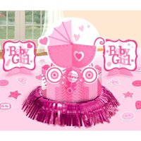 Baby Shower 'Baby Girl' Table Decorating Kit (23pc)