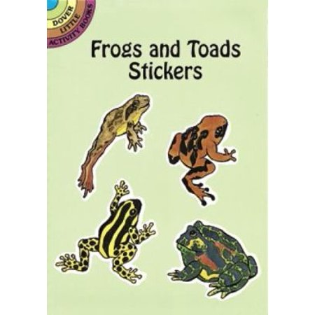 Frogs and Toads Stickers