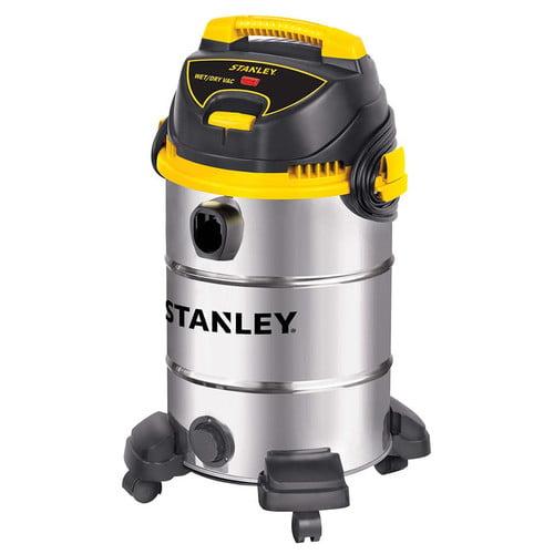 Stanley 8-gallon, 4.5-peak horse power, stainless steel wet dry vacuum