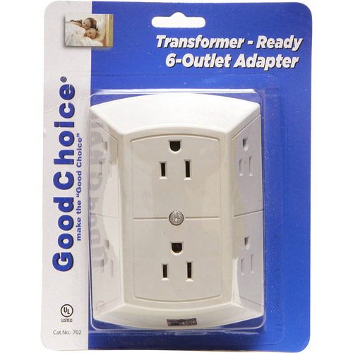 WalterDrake   6 Outlet Adapter