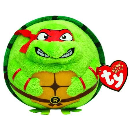 Ty Beanie Ballz Raphael Mask, Red