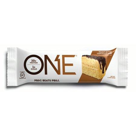 Advantage Peanut (ONE Protein Bar, Peanut Butter Chocolate Cake, 20g Protein, 12)