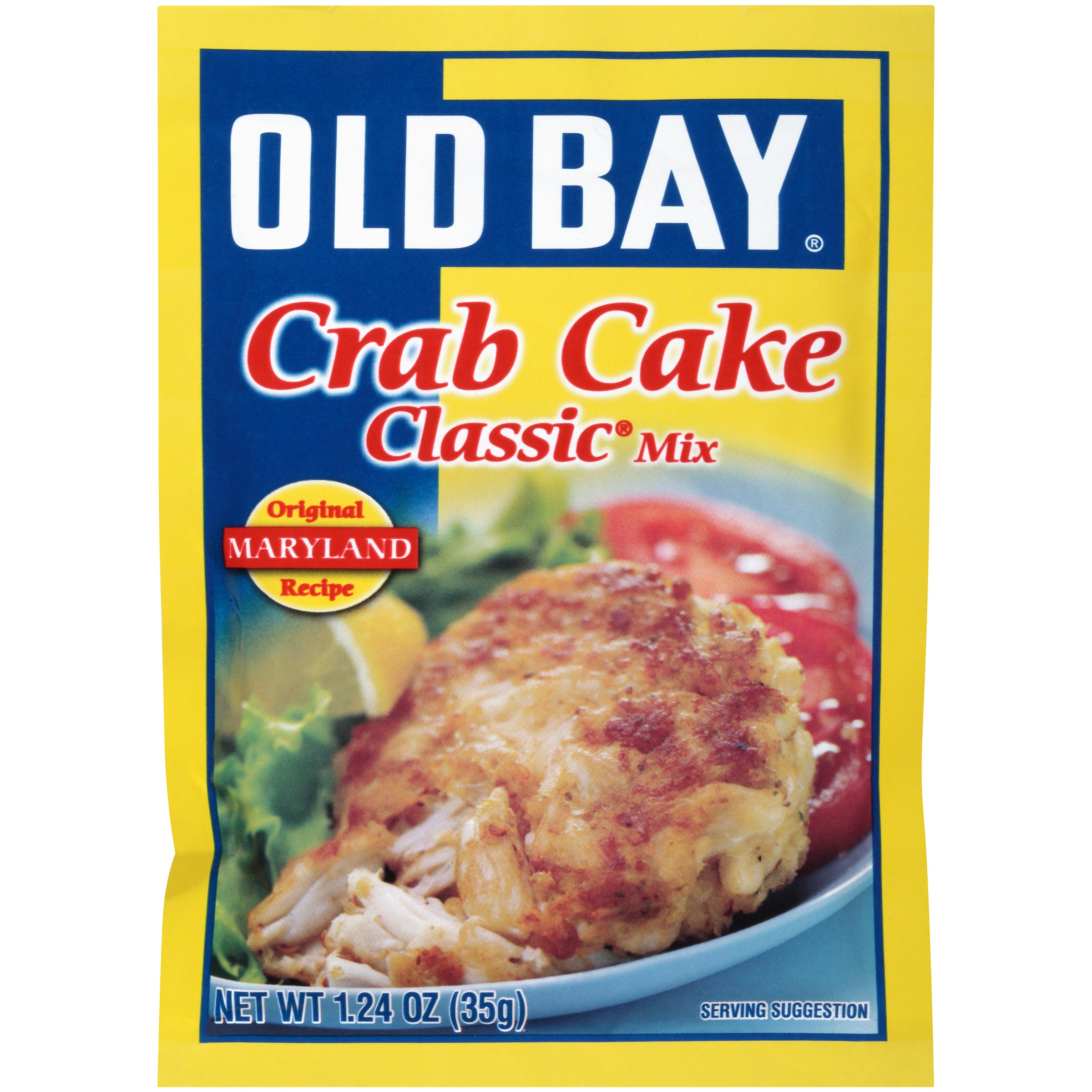 Old Bay Seasoning Crab Cake Classic Mix, 1.24 oz. Packet by McCormick & Co., Inc.