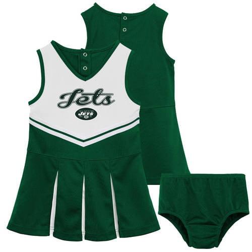 NFL New York Jets Toddler Cheerleader Set