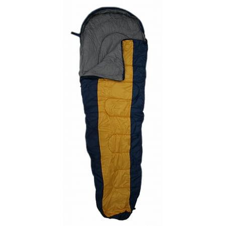 Edmbg Yellow 20 Degrees Mummy Sleeping Bag