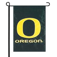 Oregon Ducks Green Applique Garden Flag