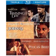 John Q   The Pelican Brief   Training Day (Blu-ray) by WARNER HOME ENTERTAINMENT