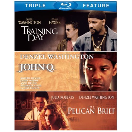 John Q / The Pelican Brief / Training Day (Blu-ray)