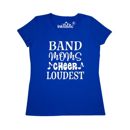 7bc2c835c Inktastic - Marching Band Mom Funny Music Gift Women's V-Neck T-Shirt -  Walmart.com