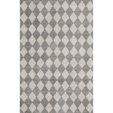 Crescent Drive Rug Company Symphony Hand Tufted Beige White Area