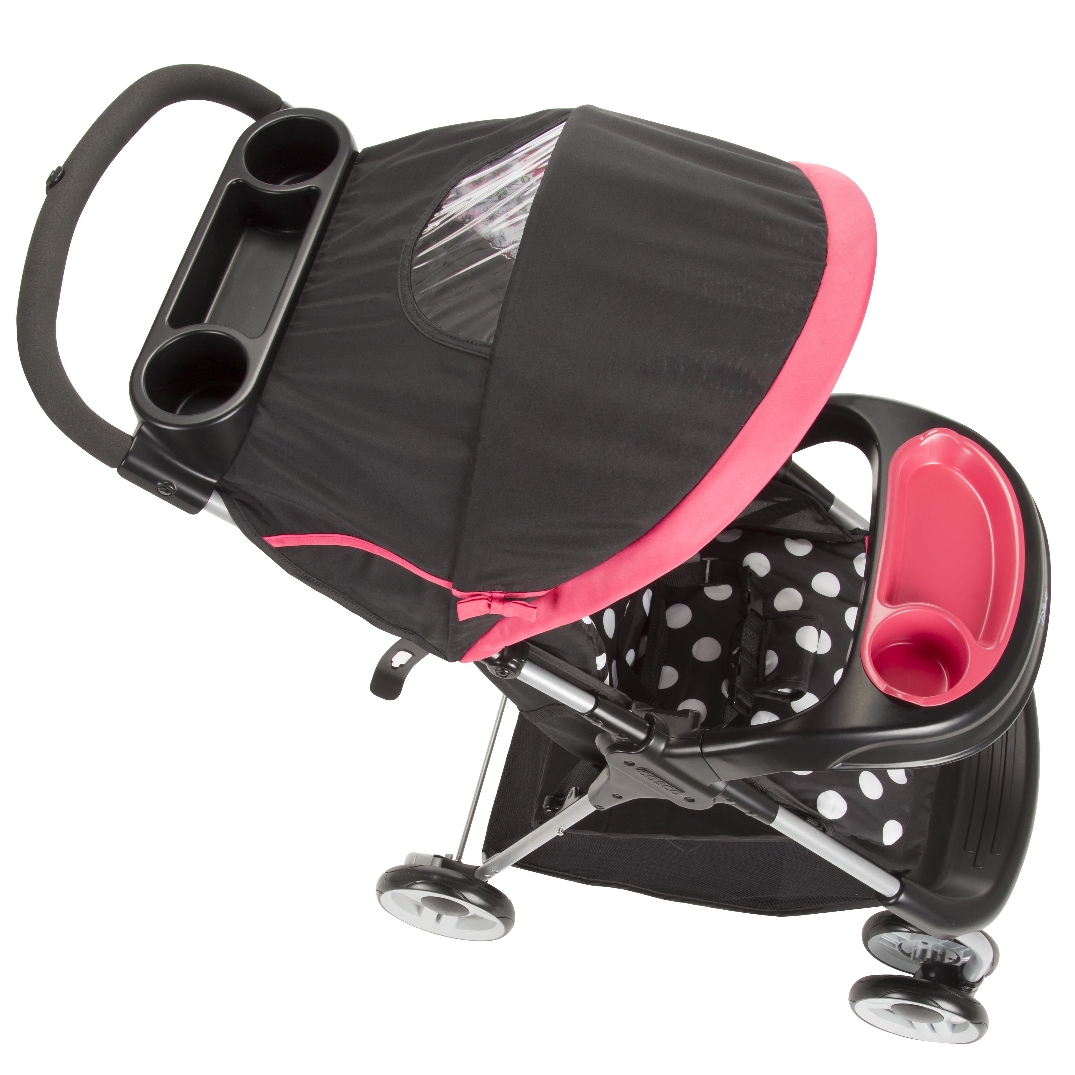 Travel System for Girls Lightweight Infant Car Seat Set Newborn Stroller Combo