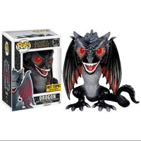 Funko Pop TV: Game of Thrones - Drogon Red Eyed Exclusive Vinyl Figure