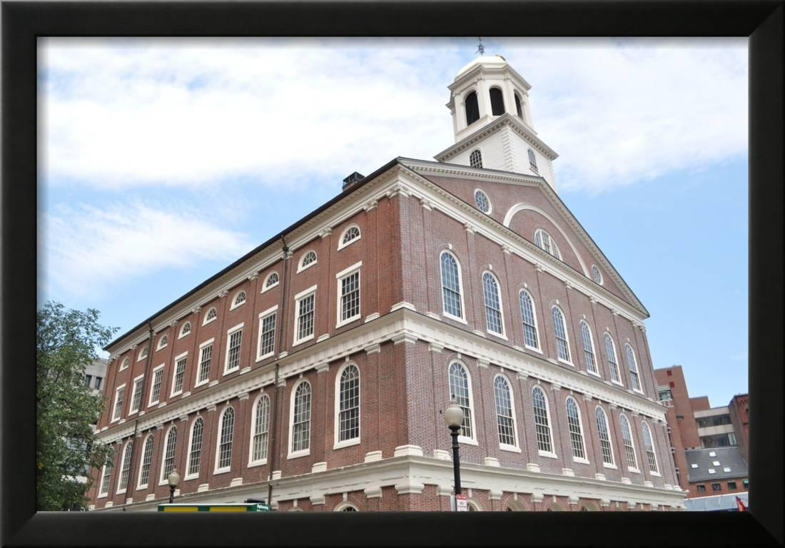 Faneuil Hall Framed Print Wall Art By Lgrigg