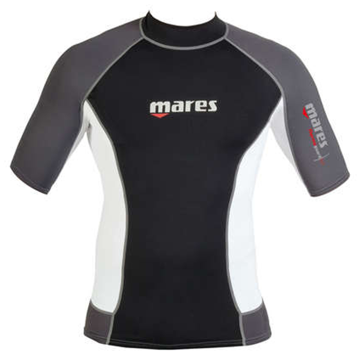 Mares Mens 0.5mm Short Sleeve Thermo Guard, 50+ UV Protection