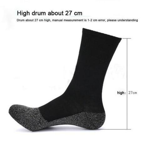 Hot Winter Warm 35 Aluminized Keep Feet Sock Heat Fibers Insulation Below Socks - image 4 de 5