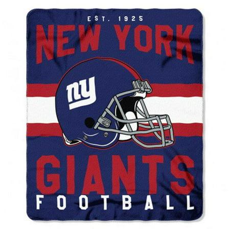 The Northwest 1NFL-03103-0081-RET NFL 031 NY Giants Singular Fleece Throw](Ny Giants Room Decor)