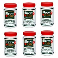 6 Brew Rite Cleaner for Automatic Drip Coffee and Espresso Machines