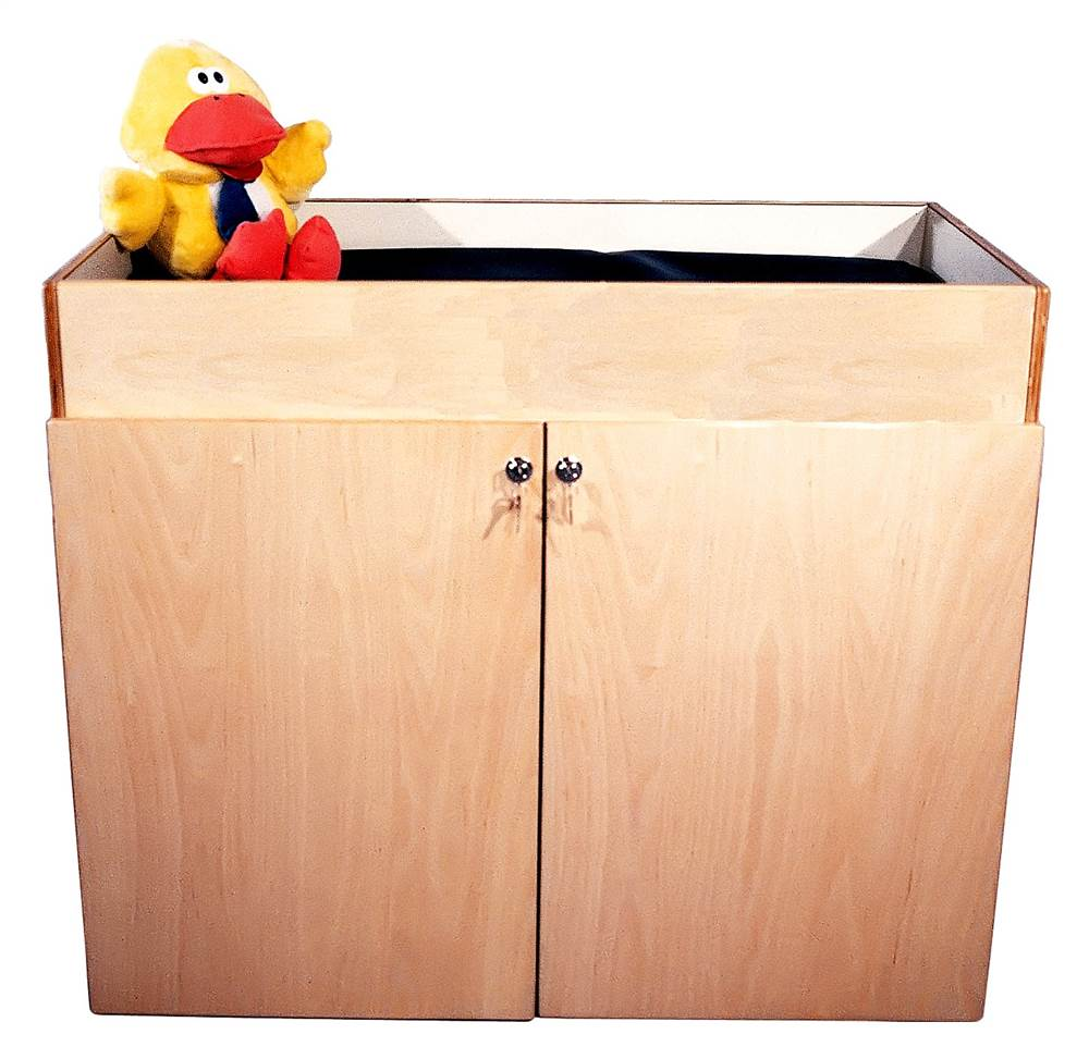 Mainstream Changing Table w Laminate and Mattress by Strictly for Kids