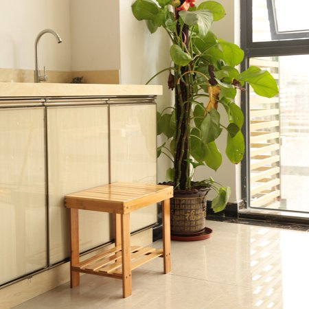 Child Wooden Step - Sturdy Bamboo Multipurpose Step Stool Wooden Durable Footstool For Kitchen Indoor Garden Patio Adults Child Stool