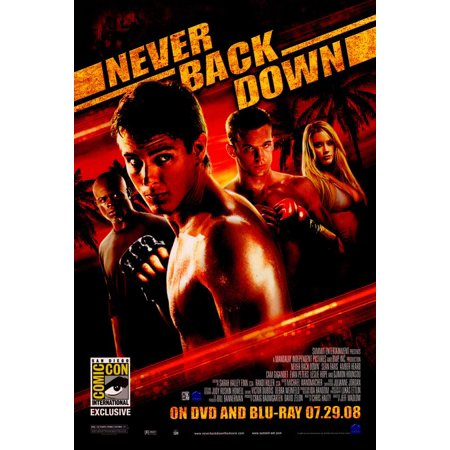 Never Back Down POSTER (11x17) (2008) (Style (Baby Grandma's Back Costume)