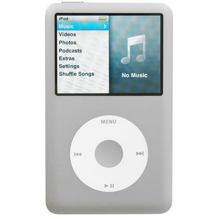 Apple 6th Generation iPod Classic 160GB Silver, Excellent Condition,  No Retail