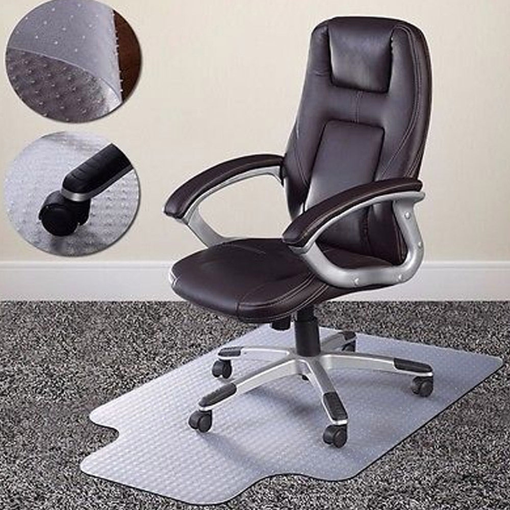 Ktaxon Home Office Chair Mat For Carpet Floor Protection Under Executive  Computer Desk Image 1 Of