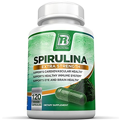 BRI Nutrition Spirulina 500 mg Capsule - 120 Capsules