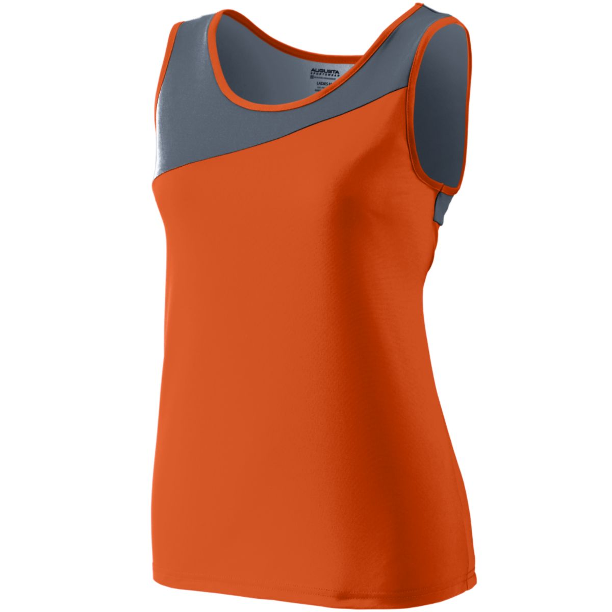Augusta Ladies Accelerate Jersey Or/Gt Xs - image 1 of 1