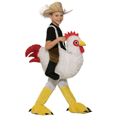 Kids Ride-A-Chicken Halloween (Children's Chicken Costume)