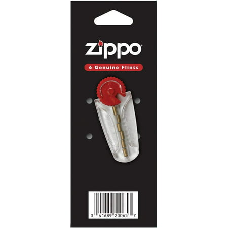 Zippo Lighter Fluid (Zippo Lighter 3 Flint card (18 flints) & 1 wick card )