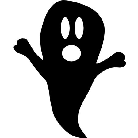 Do It Yourself Wall Decal Sticker Ghost Seasonal Halloween 12 - Do It Yourself Halloween Gifts