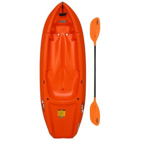 Lifetime Wave 6 ft Youth Kayak (Paddle Included), Orange, 90154 Epic Kayak Paddles