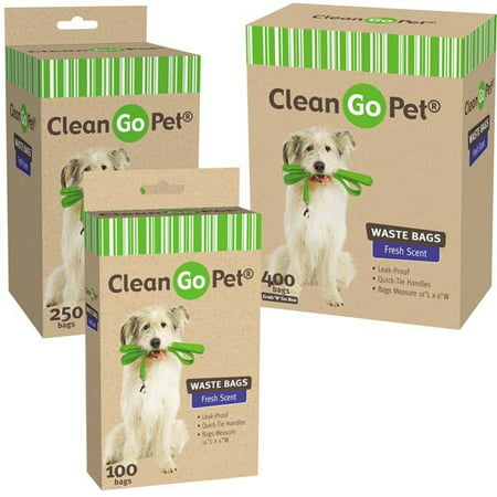 Clean Go Pet Fresh Scented Doggy Waste Bags 250 Ct