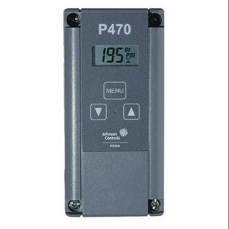 JOHNSON CONTROLS P470FB-1C Electronic Pressure Control, 30V