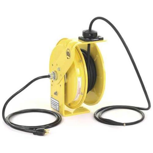KH INDUSTRIES RTBB3L-WW-J12K Cord Reel, 50 ft, 12/3, SJ, Yellow
