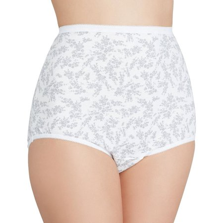 Vanity Fair Womens Perfectly Yours Tailored Cotton Brief Panty, 7 (Vanity Fair Brief Panties)