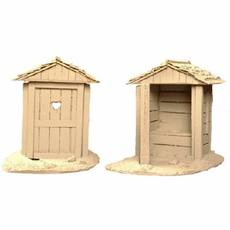 Primitive Outhouses 2 Pack 28Mm Scale Building Miniature Terrain Novus Design Studio