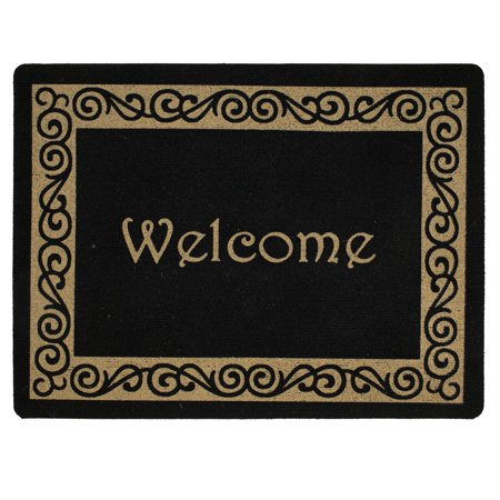 "Mainstays 18"" x 24"" Harrington Scroll Welcome Mat, 1 Each"