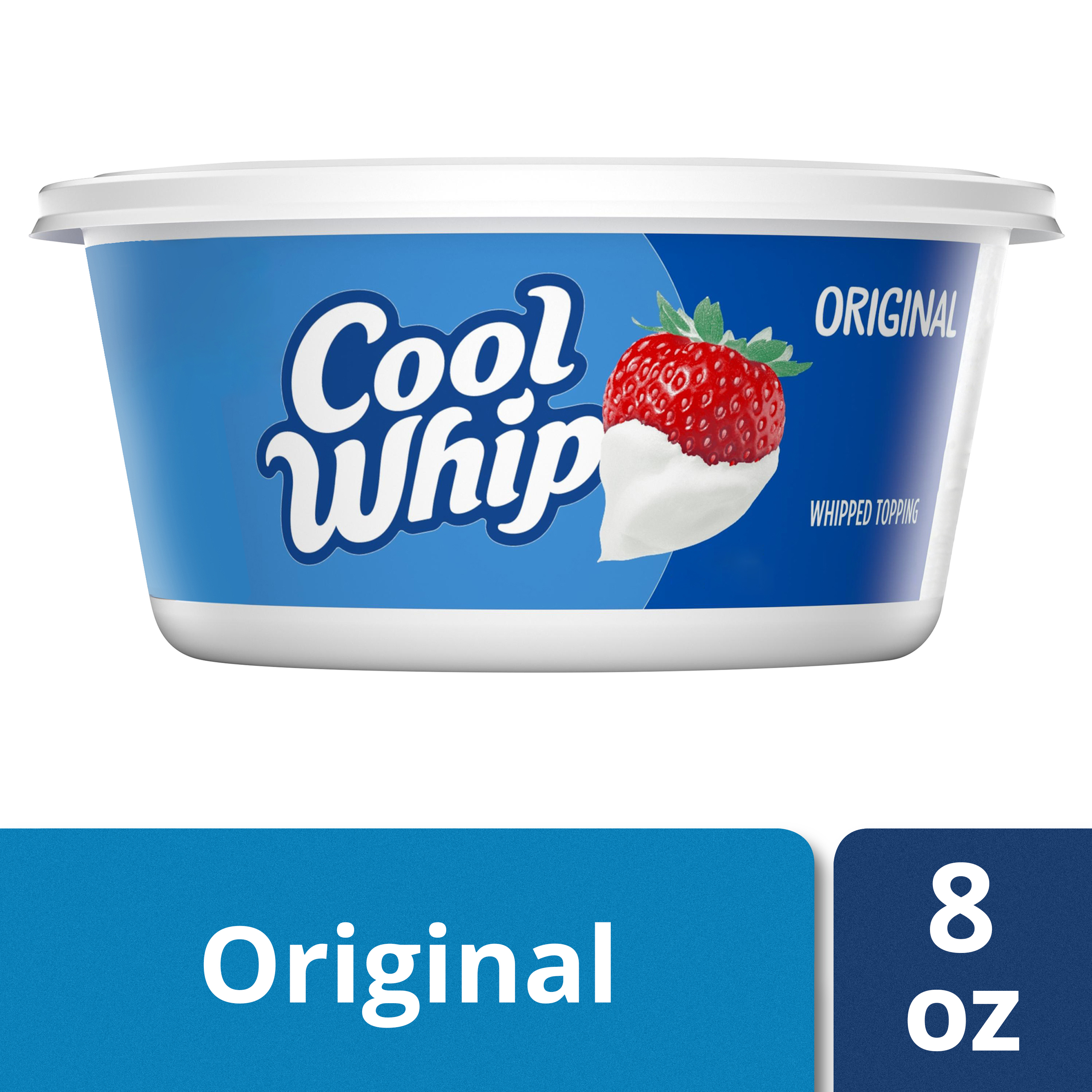 Cool Whip Original Whipped Topping, 8 oz Tub - Walmart.com