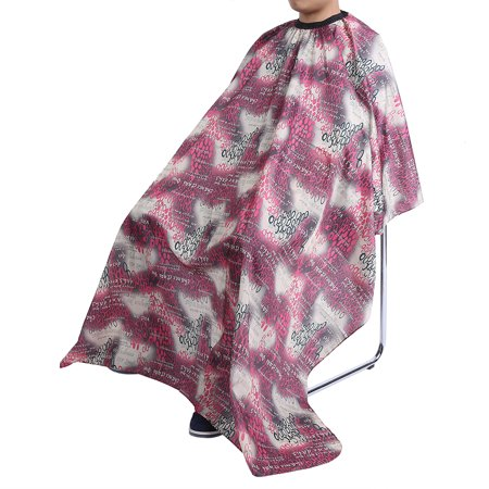 HURRISE 3 Patterns Waterproof Salon Hairdressing Cloth Hair Cutting Stylist Gown Barber Cape Apron, Hairdressing Apron, Hairdresser Gown - image 3 de 4