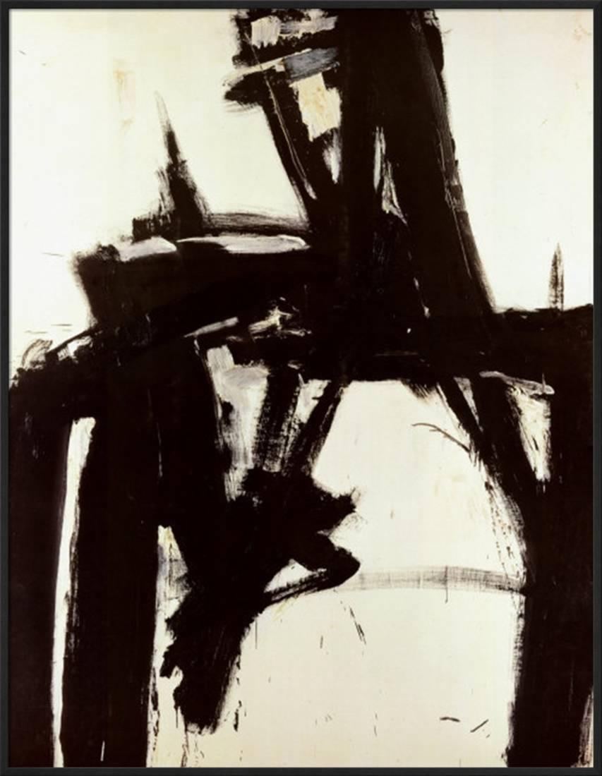 Untitled, 1957 Framed Artwork Print Wall Artwork By Franz Kline 27x36 by Art.com
