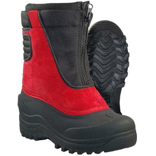 Cold Front SNOW BUSTER Kids Red Black Warm Winter Snow Boots