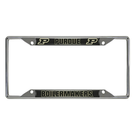 Purdue University License Plate Frame 6.25