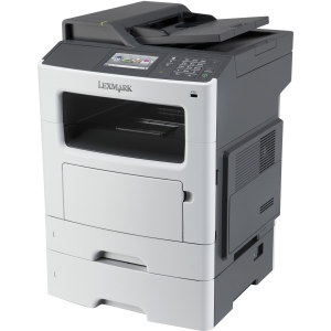 "Lexmark MX511DTE Laser Multifunction Printer - Monochrome - Plain Paper Print - Desktop - Copier/Fax/Printer/Scanner - 45 ppm Mono Print - 1200 x 1200 dpi Print - 45 cpm Mono Copy - 4.3"" Touc"