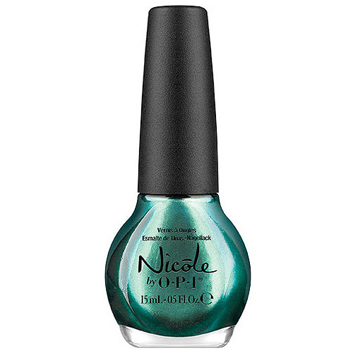 Nicole by OPI Nail Lacquer, Emerald Empowered, 0.5 fl oz