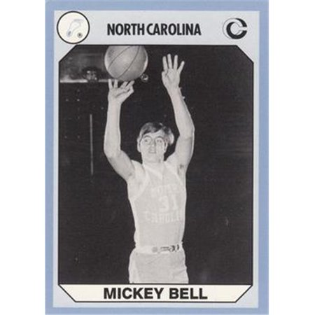 (Mickey Bell Basketball Card (North Carolina) 1990 Collegiate Collection No.166)