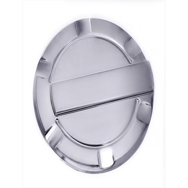 6059C F150 Chrome Billet Fuel Door Trim