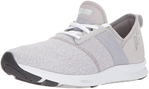New Balance Women's FuelCore Nergize v1 FuelCore Training Shoe, Light Grey, 10 B US by New Balance
