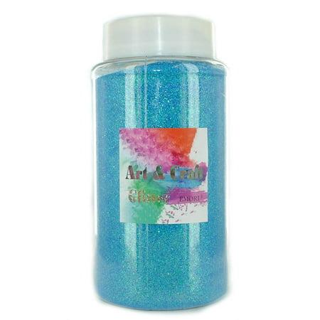 (Royal Blue) Craft Glitter 1.10 Pound (500 Gram) Bottle for Craft and Decoration