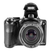 "Polaroid 18MP 40X Optical Zoom Instant Sharing Camera with Wifi, 3"" Preview Screen Black by Polaroid"